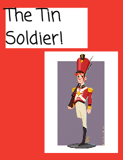 The Tin Soldier! Storybook Cover