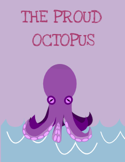 The proud     octopus Storybook Cover