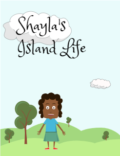 Shayla's Island Life Storybook Cover