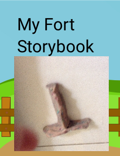 My Fort Storybook Storybook Cover