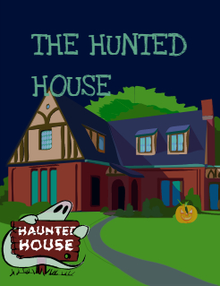 THE HUNTED HOUSE Storybook Cover