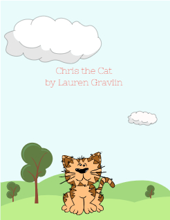 Chris the Cat by Lauren Gravlin Storybook Cover