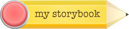 My Storybook Kids Pencil Logo