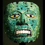 Aztec mask   1400 ad