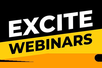 Excite webinars header logo