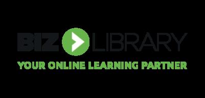 Bizlibrary logo tagline 4c
