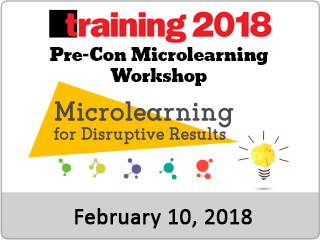 T18 precon microlearning workshop feb 10 2018