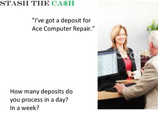 Stash the cash