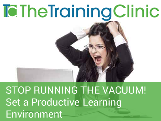 Stop running the vacuum!