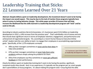 Lp leadershiptraining