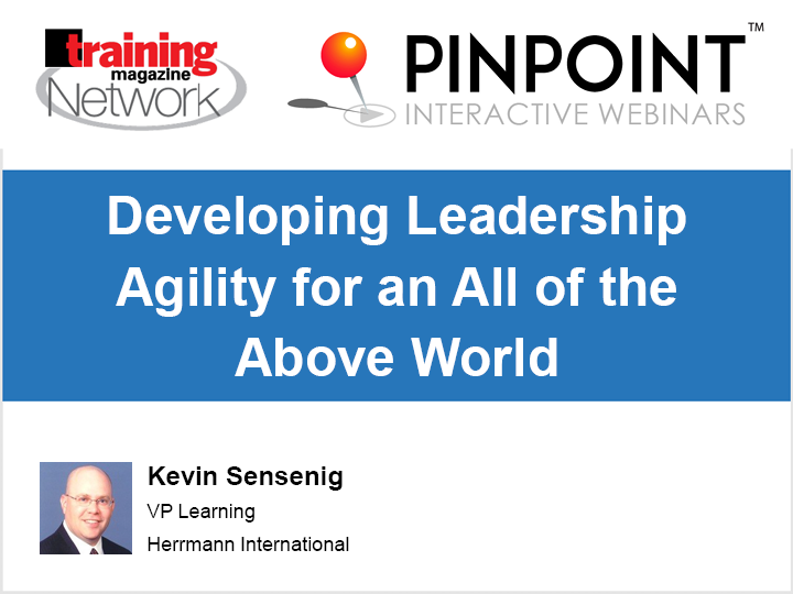 Developing leadership agility