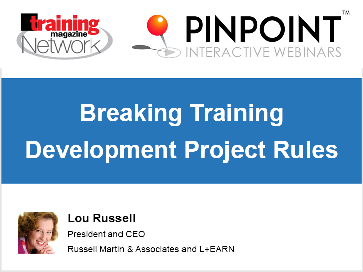 Breaking training development