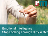Emotional intelligence stop looking through dirty water