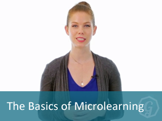 The basics of microlearning