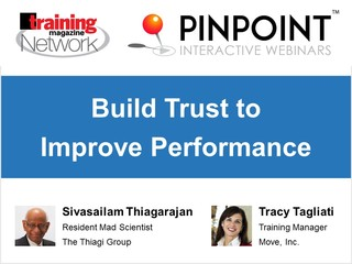 Build trust to improve performance