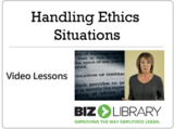 Handling ethics situations