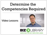 Determine the competencies required