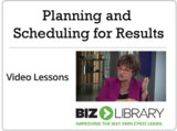 Planning and scheduling for results