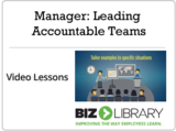 Manager leading accountable teams