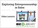 Exploring entrepreneurship in sales