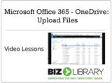Microsoft office 365   onedrive upload files