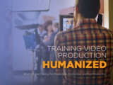 Training video production humanized cover