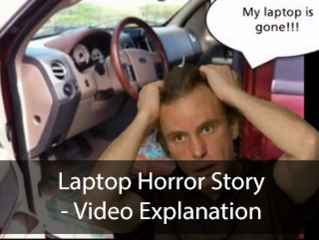 Laptop horror story