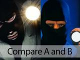 Compare a and b