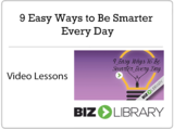 2   9 easy ways to be smarter every day