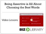 5   being assertive