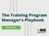 Training program managers playbook 335x250