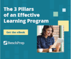 The 3 pillars of an effective learning program may benchprep