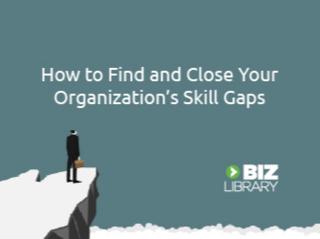 Find and close skill gaps 335x250