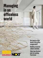 Cover from smm managing officeless world