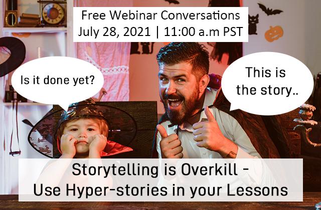 Storytelling is overkill