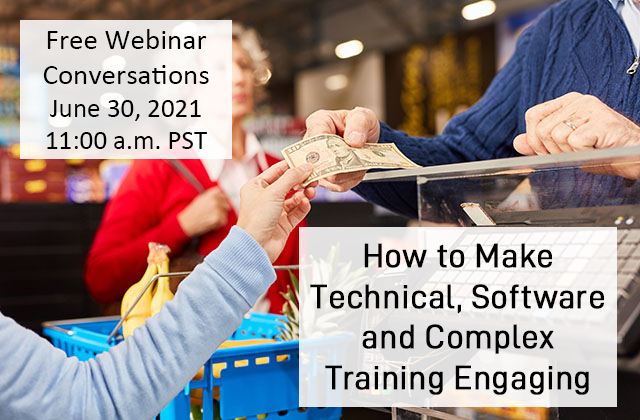 How to make technical  software and complex training engaging