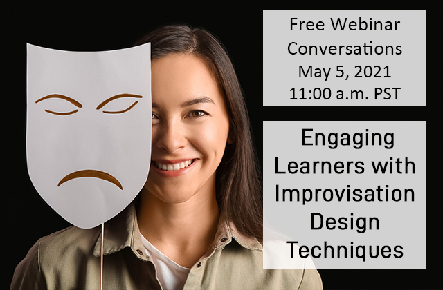 Engaging learners with improvisation design