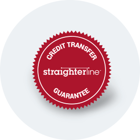 StraighterLine Credit Transfer Guarantee logo