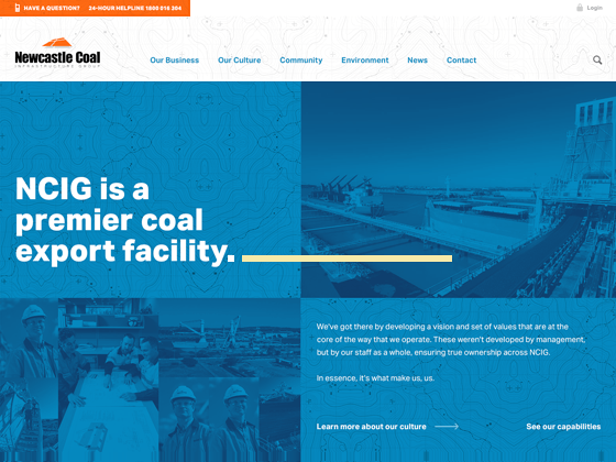 Newcastle Coal Infrastructure Group (NCIG) - Newism Web Specialists
