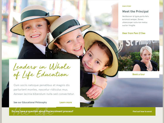 St Philips Christian Schools - Newism Web Specialists