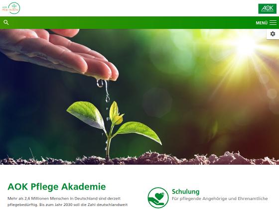 AOK Pflege Akademie - Johannes Ahrndt