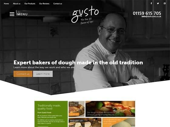 Gusto Foods & Deli Conti - Hood Digital