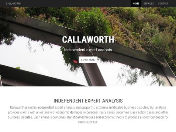 Callaworth - Bryan Garrant
