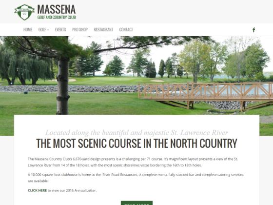 Massena Golf and Country Club - Bryan Garrant
