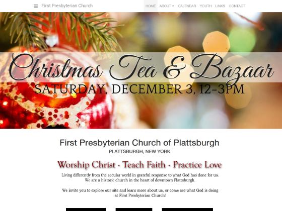 First Presbyterian Church - Bryan Garrant