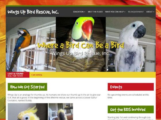 Wings Up Bird Rescue, Inc. - Bryan Garrant