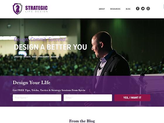 Strategic Life Design - Blue Fish