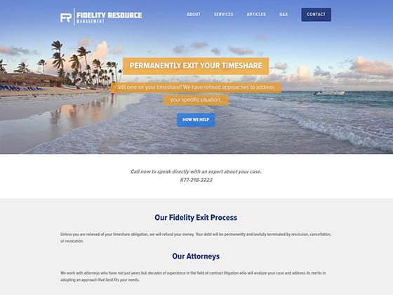 Fidelity Resource Management - Blue Fish