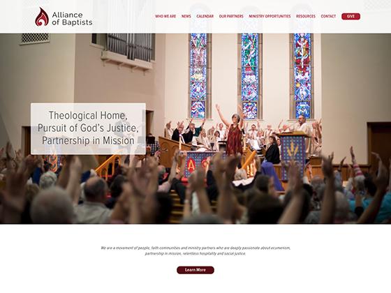 Alliance of Baptists - Blue Fish