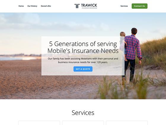 Trawick Insurance - Blue Fish